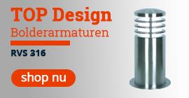 TOP Design Bolderarmaturen