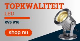 Topkwaliteit LED Nautilus buitenlamp